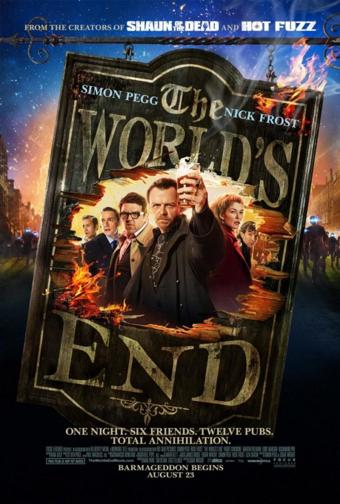 Bienvenidos al fin del mundo (The World's End) – Crítica