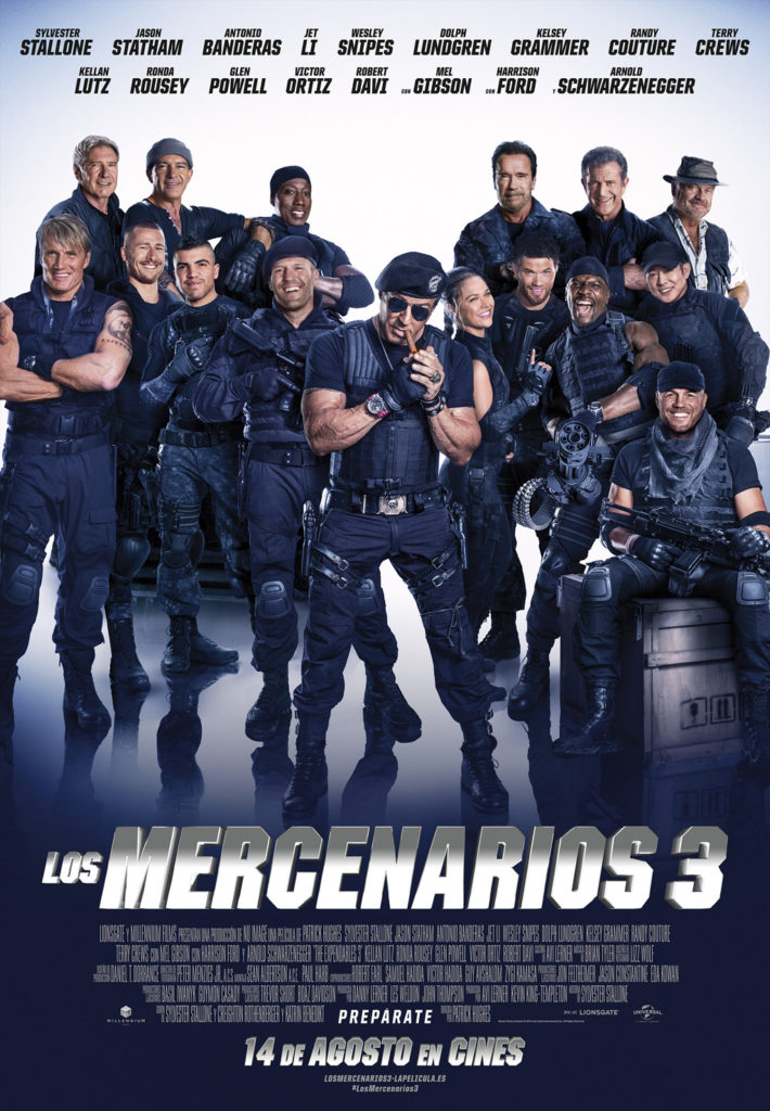 Mercenarios 3 - The Expendables 3