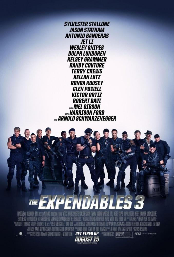 Los mercenarios 3 (The Expendables 3) – Crítica